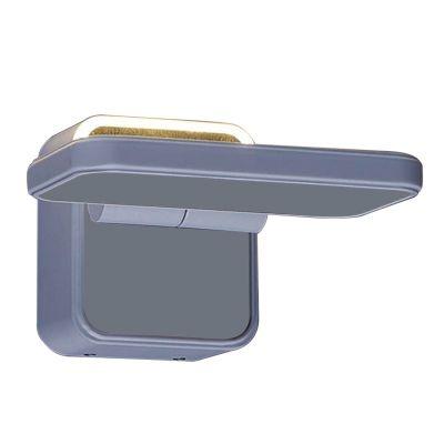 Arandela Bella Iluminação Cell LED Articulada Metal Branco 13,5x13cm 1 LED 4W 110v 220v Bivolt W1899 Quartos Sala Estar