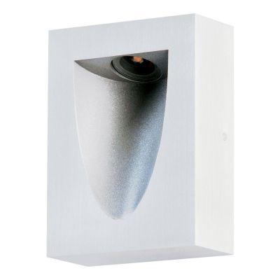 Balizador Bella Iluminação Sobrepor Risu LED Metal Branco 4x11cm 1 LED 3W 110v 220v Bivolt LZ022W Lavabos Lavabos