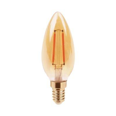 Lampada Bella Iluminação Vela Filamento LED E14 2,5W 110v 220v Bivolt LP171