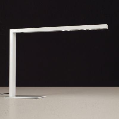 Luminária Bella de Chão LED Decorativo Alumínio Branco 39x56cm  8x LED SE398B Mesas e Balcões