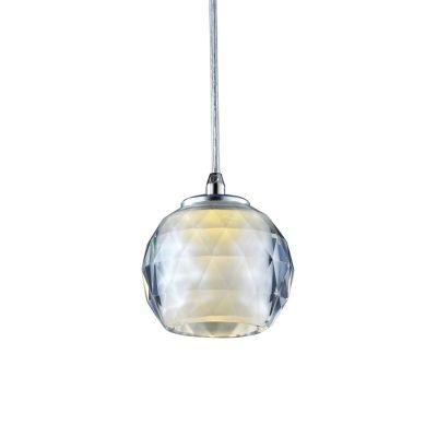 Pendente Bella Iluminação Golf Metal Esfera Vidro Translucido Ø10cm 1 G9 Halopin MO2580 Balcões Saguão