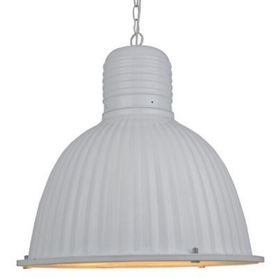 Pendente Bella Iluminação Pan Suspenso Sino Metal Vidro 44x48cm 1 E27 40W 110v 220v Bivolt AD010 Cozinhas Sala Estar