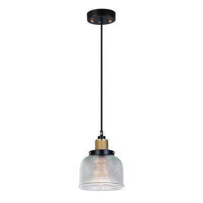 Pendente Bella Iluminação Suspenso Grid Metal Vidro Translucido 11,5x14,5cm 1 E27 110v 220v Bivolt OP045A Saguão Mesa Jantar