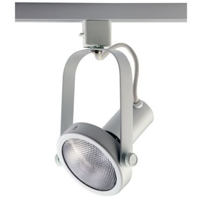 Spot Bella Iluminação Basic Trilho Regulavel Metal Branco 20x10cm 1x PAR 30 110v 220v Bivolt DL031B Cozinhas e Sala Estar