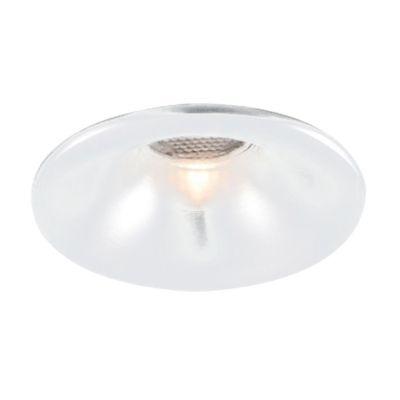 Spot Bella Iluminação Embutir Fit Red Metal Escovado 3,5x5cm 1 LED 3W 110v 220v Bivolt NS1008AL Cozinhas Saguão
