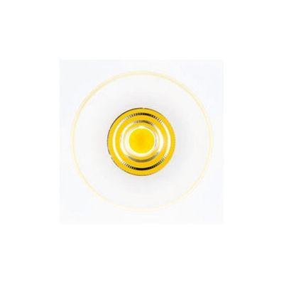 Spot Bella Iluminação Embutir Halo Quadrado LED Metal Branco 8,9x10cm 1 LED 110v 220v Bivolt NS1012 Sala Estar Corredores