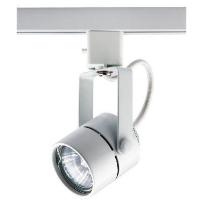 Spot Bella Iluminação Pharos Trilho Regulavel Metal Branco 11x5,5cm 1x Dicróica 110v 220v Bivolt DL032B Sala Estar Cozinhas