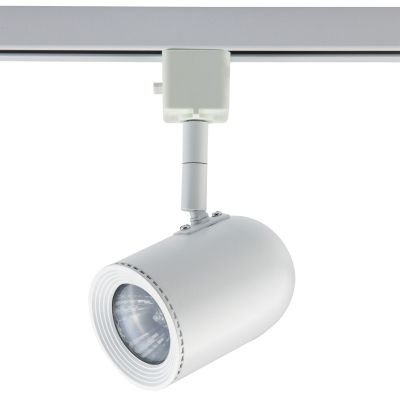 Spot Bella Iluminação Pharos Trilho Regulavel Metal Branco 11x5,5cm 1x Dicróica 110v 220v Bivolt DL034B Cozinhas Sala Estar