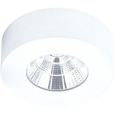 Spot Bella Iluminação Red Pill LED Sobrepor Redondo Branco 2,6x7,3cm 1x LED 5W 110v 220v Bivolt DL107R Quartos Lavabos