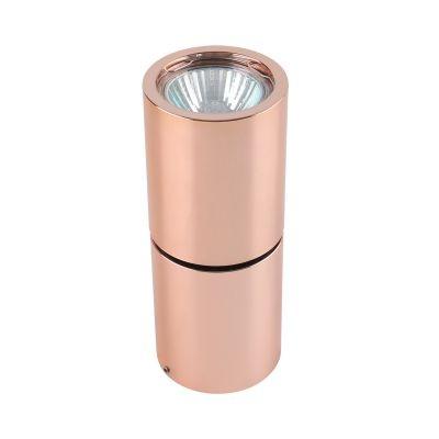 Spot Bella Iluminação Red Tubo Sobrepor Metal Cobre 15,8x6,3cm 1 GU10 Dicróica 110v 220v Bivolt YD1800B Sala Estar Hall