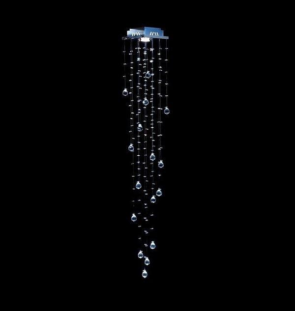 Spot Plafon Cristal K9 Legítimo 18x18 Sala Salão Estar Comercial Quarto Qu-001 L DNA Iluminação