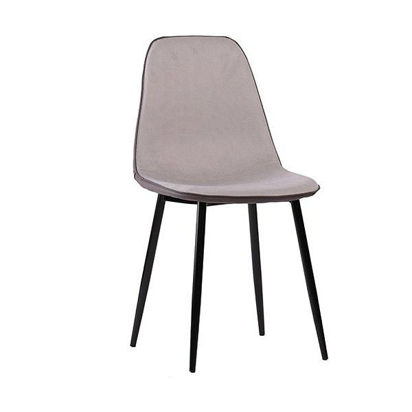 Cadeira Design Fratini Eames Eiffel DAR Ray Pes Madeira Natural Salas Lyon Cinza Assento Polipropileno