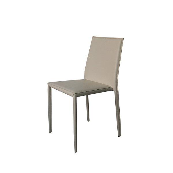Cadeira Design Fratini Quadrada Gelo Assento Estofado Tecido Couro Moderna Cozinhas Salas Zurique