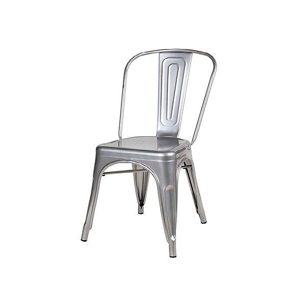 Cadeira Design Fratini Tolix Iron Francesinha Xavier Pauchard Prata Natural Cozinhas Berlin