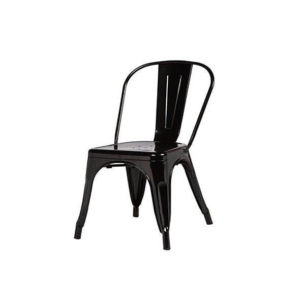 Cadeira Design Fratini Tolix Iron Francesinha Xavier Pauchard Preto Cozinhas Berlin