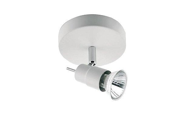 SPOT Quality Iluminação QSP920-BR Alumínio AÇO ESCOVADO 1XGU10  50W Ø12X9,5CM