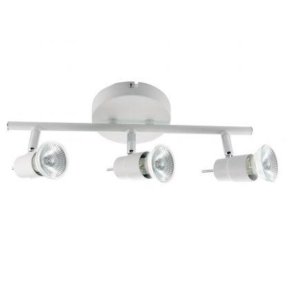 SPOT Quality Iluminação QSP922-BR Alumínio AÇO ESCOVADO 3XGU10  50W Ø12X12X36,5CM