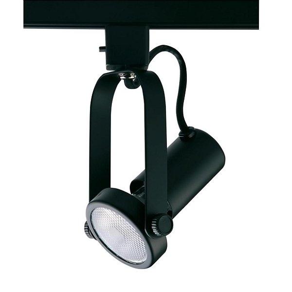 SPOT TRILHOS Quality Iluminação QSP901-PT 1XPAR20 PRETO 6,8X17,3CM