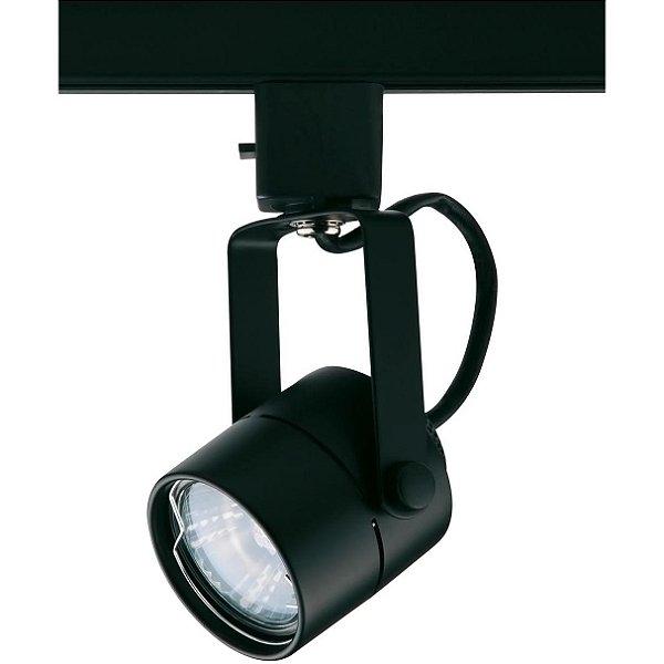 SPOT TRILHOS Quality Iluminação QSP902-PT 1XDicroica PRETO 5,8X15,8CM
