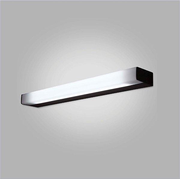 ARANDELA Grande Usina Design TORO ACRILICO LEITOSO FOSCO 16400/130 1 T8 120Cm 1300x50x100