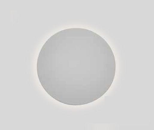 Arandela Newline Iluminação Pleine Lune LED Redonda Sobrepor Acrílico 9x40cm 2x PCI LED 6W 341LEDBT Parede Muro Banheiro Sala