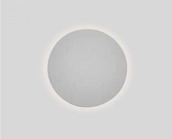 Arandela Newline Iluminação Pleine Lune Redonda Sobrepor Acrílico 9x40cm 2x E27 25W Bivolt 110v 220v IN40023BT Parede Muro Banheiro Sala