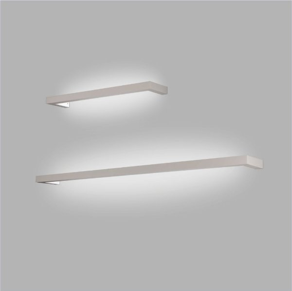 ARANDELA Trilho Usina Design LOFT PERFIL U 45mm 16350/130 1 T8 120Cm 1300x45x120
