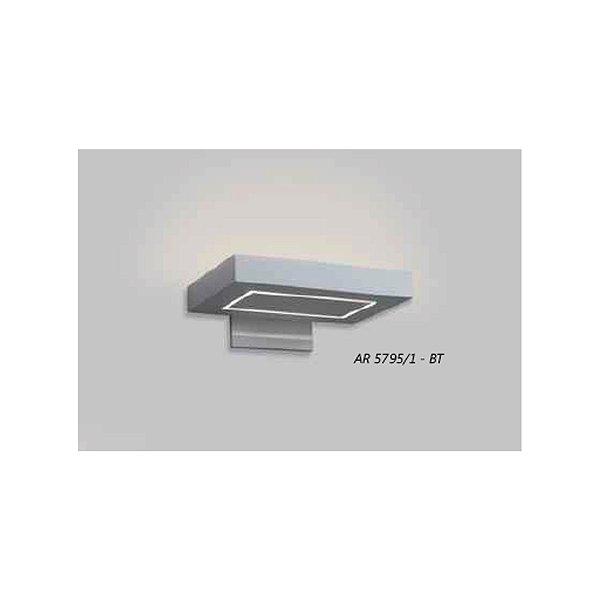 ARANDELA Usina Design ALETA MÓVEL 5795/1 Sala Estar Banheiros Lavabos Quartos PALITO LED CURTA R7S 280x130x200