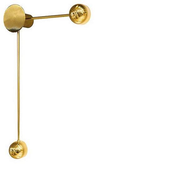 ARANDELA Usina Design CONCHIGLIA 5797/70 Sala Estar Banheiros Lavabos Quartos 1xPCI LED 5W 110 220V 110X700X93