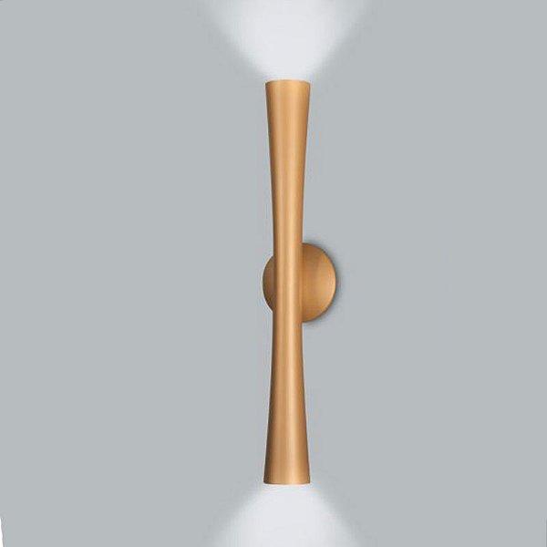 ARANDELA Usina Design CORNETA 16097/60 Quartos Sala Estar Cozinhas 2GU10 MR16 120X600X80