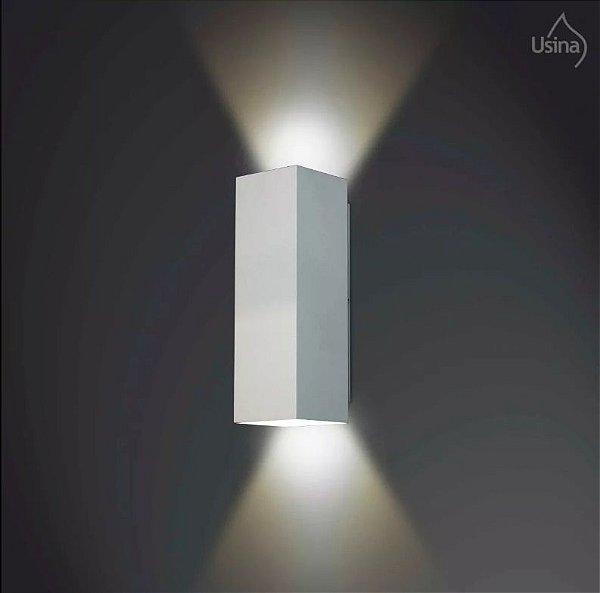 Arandela Usina Design Amb. Externo 09x56 Luminária Parede Muro Quintal Jardim Varanda Garagem 5240/56 Usina Design