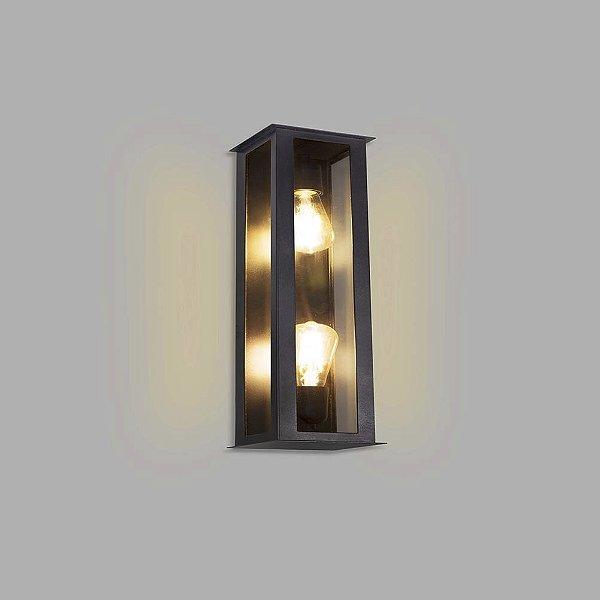 ARANDELA Usina Design FAROL 5781/2 2xE27 Sala Estar Banheiros Lavabos Quartos 140x400x130