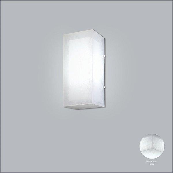 Arandela Usina Design Interna Tecido 18x68 Sala Corredor Parede Quarto 10718/68 Usina Design
