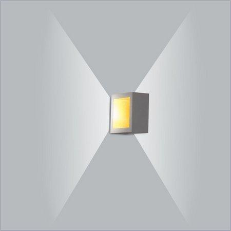 ARANDELA Usina Design PUCH QUADRADA LED 5744/10 Sala Estar Banheiros Lavabos Quartos 1xPCI LED 5W 110 220V 100X51X100