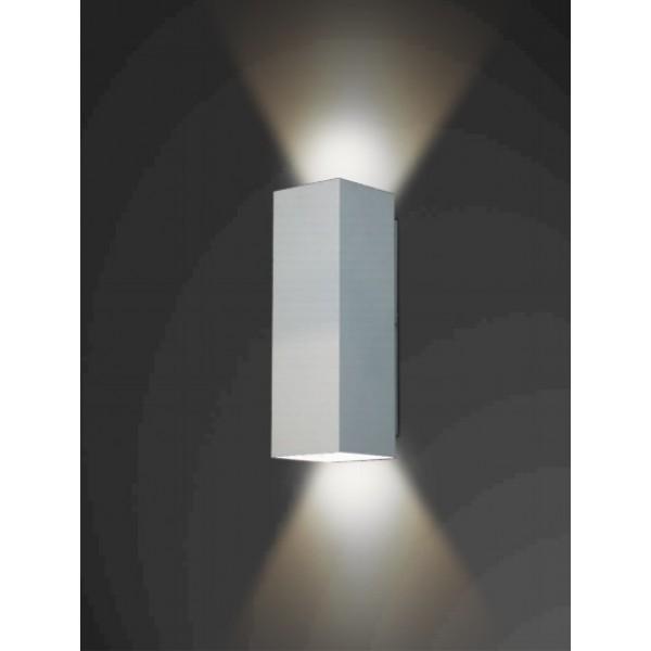 ARANDELA Usina Design QUADRADA OCCA Amb. Externo 5240/78 Sala Estar Banheiros Lavabos Quartos 2 E27 90x780x100