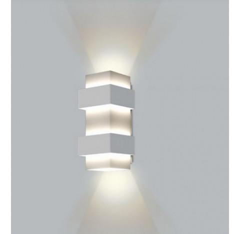 ARANDELA Usina Design Quadrado SMART Amb. Externo 5220/28 Sala Estar Banheiros Lavabos Quartos 2 G9 120X120X280