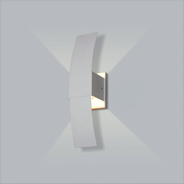 ARANDELA Usina Design Quadrado TUCA DIRETA INTERNA 5706/1 Sala Estar Banheiros Lavabos Quartos 1 G9 80x305x90
