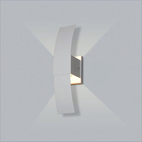 ARANDELA Usina Design Quadrado TUCA INDIRETA INTERNA 5705/1 Sala Estar Banheiros Lavabos Quartos 1 G9 80x305x90
