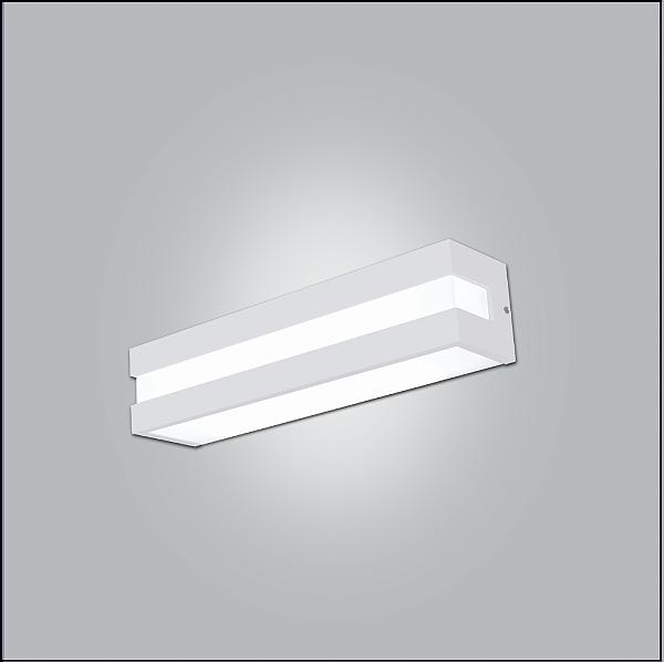 ARANDELA Usina Design RETANGULAR MODULAR 3810/32 Sala Estar Cozinhas 1 E27 320X115X105