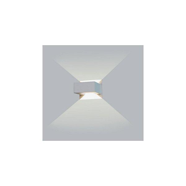 ARANDELA Usina Design RETANGULAR SELF INTERNA 5295/1 Sala Estar Banheiros Lavabos Quartos 1xPCI LED 5W 110 220V 100x125x115