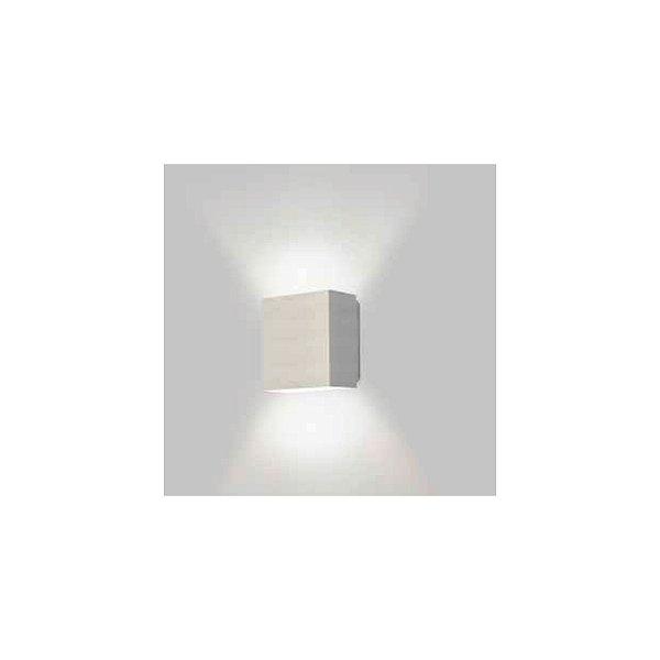 ARANDELA Usina Design RETANGULAR SIG Amb. Externo 5256/10 Sala Estar Banheiros Lavabos Quartos 1 G9 100x105x60
