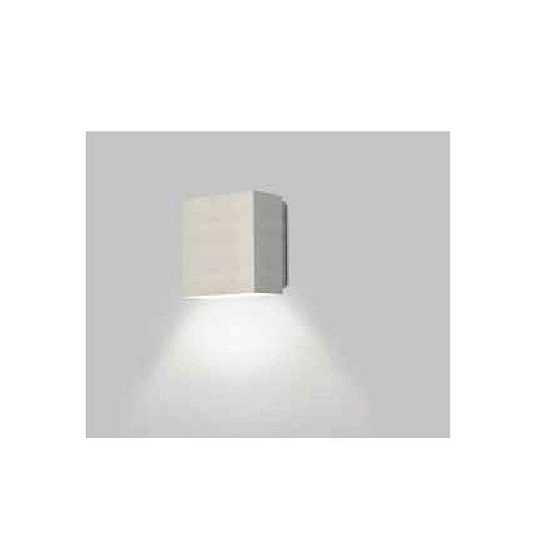 ARANDELA Usina Design Retangular SIG FECHADA 1 LADO Amb. Externo 5255/10 Sala Estar Banheiros Lavabos Quartos 1 G9 100x105x60