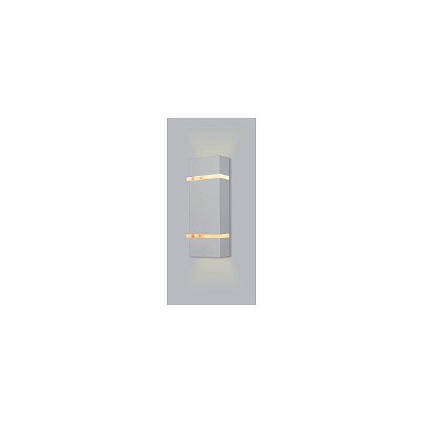 ARANDELA Usina Design Retangular SLIM Amb. Externo 5270/28 Sala Estar Banheiros Lavabos Quartos 2 G9 60x105x280
