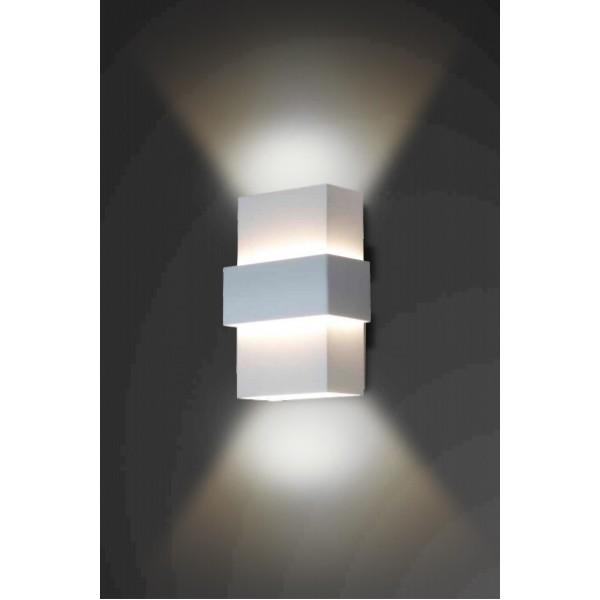 ARANDELA Usina Design RETANGULAR SMART Amb. Externo 5221/28 Sala Estar Banheiros Lavabos Quartos 2 G9 70X120X280