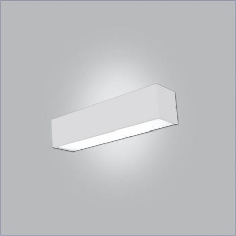 ARANDELA Usina Design Retangular TROPICAL com 02 DIFUSOR 4009/65F Sala Estar Cozinhas 2T8 60CM 650x120x95