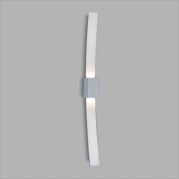 ARANDELA Usina Design RETANGULAR VITÓRIA INTERNA 5736/50 Sala Estar Banheiros Lavabos Quartos 2G9 LED 60x500x80