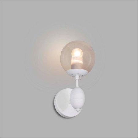 ARANDELA Usina Design SANSÃO com GLOBO 16293/1 Quartos Sala Estar Cozinhas 01 E27 G45 140x280x160