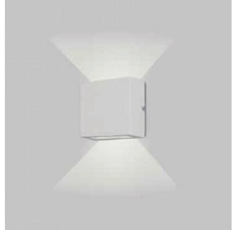 ARANDELA Usina Design XELMIX 2 VIDROS 5211/1 Sala Estar Banheiros Lavabos Quartos 1 G9 110x110x50