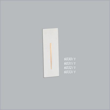 BALIZADOR Usina Design VIX PAREDE 6031/1 Corredores Hall 1xPCI LED 5W 110 220V 50X150X55