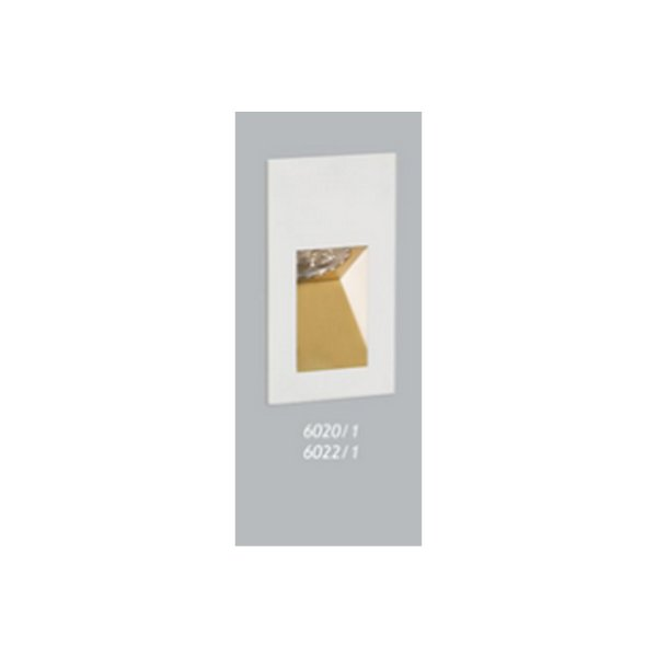 BALIZADOR Usina Design VOLT PAREDE 6020/1 Corredores Hall 1 GU10 90X160X55